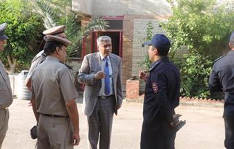 بالصور.. مدير أمن الفيوم يتفقد مقر قوات الحماية المدنية بالمحافظة