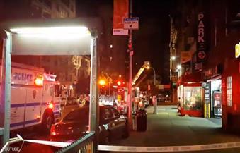 """بالفيديو.. إصابة 25 شخصًا في انفجار """"مانهاتن"""" الأمريكية"""