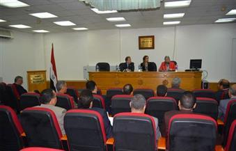 """بالصور..""""سعفان"""": برنامج تدريبي لرفع كفاءة المستشارين العماليين بسفارات مصر لرعاية العمالة"""