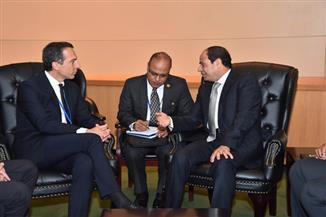 السيسي يلتقى مستشار النمسا على هامش أعمال الجمعية العامة للأمم المتحدة