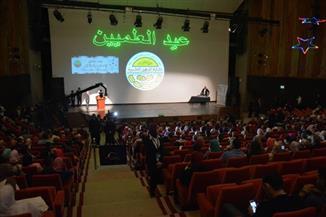"""بالصور.. نقيب """"مهندسي الإسكندرية"""" تشارك العلميين عيدهم الأول"""
