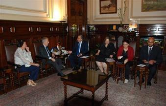 وزير الزراعة يستقبل السفير الإسباني بالقاهرة لبحث سبل التعاون الزراعي بين البلدين