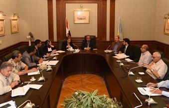 بالصور.. محافظ الإسكندرية يجتمع مع لجنة مجلس الوزراء لبحث استعدادات موسم الأمطار