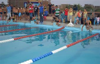 بالصور.. ننشر أسماء الفائزين فى بطولة السباحة الودية الأولى بالأقصر