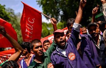 يحدث في الهند.. 180 مليون عامل يضربون عن العمل