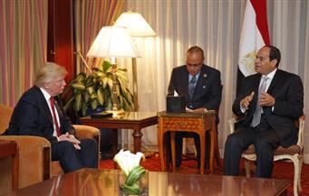 ترامب في لقائه مع السيسي: الولايات المتحدة ستكون صديقًا وفيًا يمكن أن تعول عليه مصر