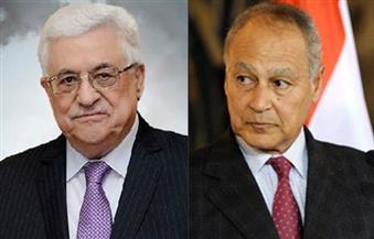 أبو الغيط وأبو مازن يتبادلان وجهات النظر حول مستجدات القضية الفلسطينية