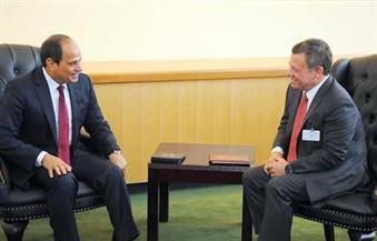 ننشر تفاصيل لقاء السيسي وملك الأردن على هامش أعمال الجمعية العامة للأمم المتحدة