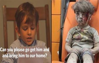 طفل أمريكي في رسالة لأوباما: هل تذكر عمران السوري؟ فلتأت به إلينا.. نحن سنوفر له عائلة