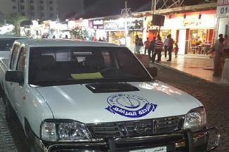 تشميع مطعم شهير بشارع شيري بالغردقة لمخالفته الاشتراطات الصحية