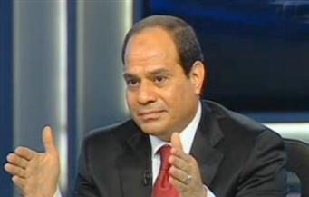 """السيسي لـ""""سي إن إن"""": محاربة الإرهاب عنصر جديد في برنامج المساعدات الأمريكية لمصر"""