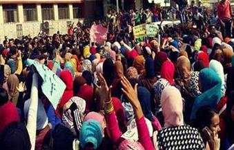 أولياء-أمور--طالبًا-من-ذوي-الاحتياجات-الخاصة-يتظاهرون-بالأقصر-احتجاجًا-على-نقل-أبنائهم-لمدرسة-أخرى