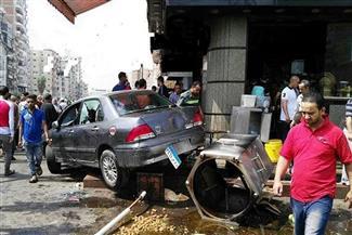 وفاة الضحية الثانية في حادث اقتحام سيارة لمطعم بالمنصورة