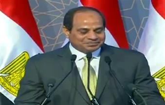 ننشر نص كلمة الرئيس السيسي في افتتاح منطقة غيط العنب بالإسكندرية بعد تطويرها