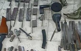 ضبط 6 ورش سلاح وجرينوف و6 بنادق آلية وخرطوش فى البداري بأسيوط