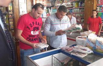 ضبط 72.5 طن من الأغذية المجمدة غير صالحة للاستهلاك بالإسكندرية