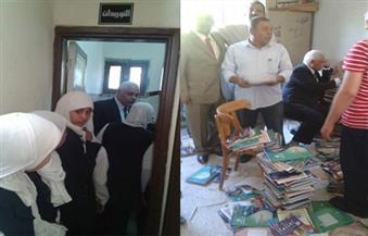 وكيل وزارة تعليم أسيوط: الانتهاء من توزيع وارد الكتب المدرسية بكافة المراحل