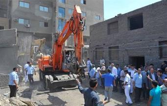 لليوم الثالث.. استمرار أعمال إزالة المدابغ فى حى مصر القديمة