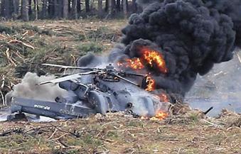 خمسة قتلى في تحطم مروحية عسكرية أوكرانية
