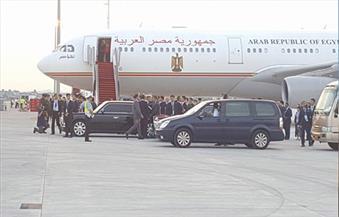 السيسي يصل مطار شاوشان الصيني للمشاركة فى قمة مجموعة العشرين