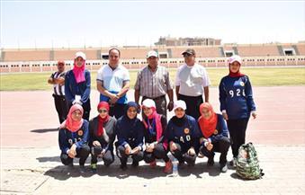 فريق-سوهاج-المشارك-في-الأسبوع-الرابع-للفتيات-بجامعة-المنيا-يتنافس-فى--مسابقات-مساء-اليوم