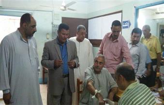"""بالصور.. انطلاق حملة """"الغربية خالية من فيروس سي"""" في قرية العزيزية بسمنود"""