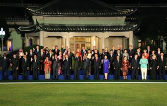 بالصور.. الرئيس الصينى يقيم حفل عشاء للرؤساء المشاركين بقمة العشرين.. وحفل موسيقى بهانجشو
