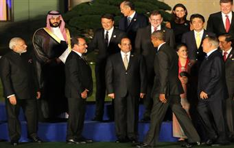 """السيسي يحضر مختلف فعاليات قمة العشرين.. ويلتقى العديد من القادة والزعماء بـ""""هانجشو"""""""