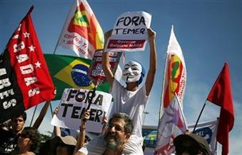 """ارحل يا تامر.. عشرات الآلاف من البرازيليين يتظاهرون ضد الرئيس """"الانقلابي"""""""