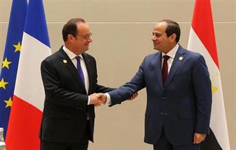 ننشر تفاصيل لقاء السيسي بالرئيس الفرنسي على هامش قمة العشرين بالصين