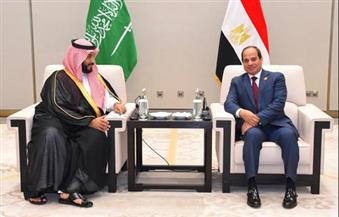 السيسي يلتقى ولي ولى العهد السعودي على هامش قمة العشرين