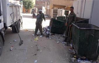 حي السلام أول يزيل مخلفات ذبح وقمامة من أرض الـ 23 فدان أملاك محافظة القاهرة