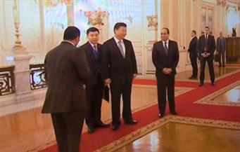 التليفزيون المركزي الصيني يبث تقريرا عن السيسي ويسترجع ٢٠٠٠ سنة من العلاقات مع مصر