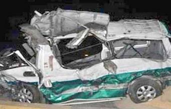 إصابة 20 شخصًا في حادث تصادم بين 4 سيارات بالأقصر