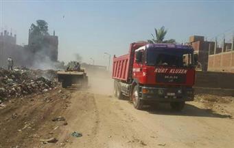 """رفع القمامة من شوارع حي المرج.. و""""مصر الجديدة"""" يعتمد ميزانية تطوير سوق سوهاج والتسليم خلال شهرين"""