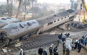 حبس سائق قطار العياط المنكوب وعامل التحويلة 4 أيام بتهمة القتل الخطأ