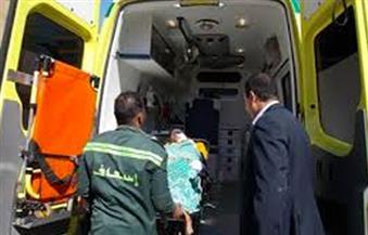 إصابة أمين شرطة إثر اصطدامه بسيارة ملاكي بطريق السويس الصحراوي