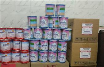 ضبط ألبان أطفال وسلع غذائية مجهولة المصدر في حملة على أسواق الإسكندرية