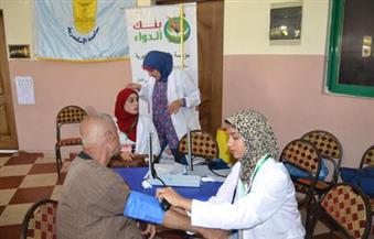 """بالصور.. جامعة الإسكندرية تطلق قافلة طبية لـ """"غيط العنب"""" بالتعاون مع القوات المسلحة"""