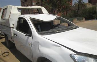 انقلاب سيارة يودي بحياة عامل وإصابة سائق بطريق أسيوط الغربي في الفيوم