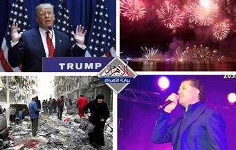 احتفالات دبى.. مساعدة تركيا.. التسلل الإلكتروني.. قصف حلب بنشرة السادسة
