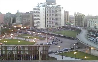 محافظ القاهرة يكلف بالحفاظ على أعمال تطوير ميدان رمسيس
