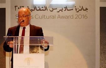 """بالصور.. """"والي"""" و""""النمنم"""" خلال توزيع جوائز ساويرس الثقافية: استثمار في القوة الناعمة"""