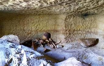 بالصور.. الكشف عن 12 مقبرة جديدة بمنطقة جبل السلسلة بأسوان