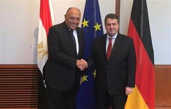 نائب ميركل يؤكد لشكري استمرار الدعم الاقتصادى الألماني لمصر خلال المرحلة المقبلة