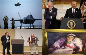 بماذا دعت الشيخة حصة.. انفجارات المطار.. معرض الملكة فريدة.. مفاجأة أوباما بنشرة السادسة