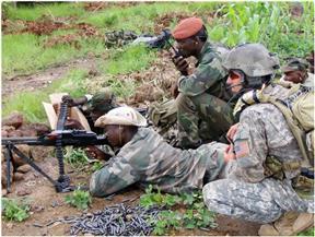 إطلاق نار داخل قاعدتين للجيش في ساحل العاج