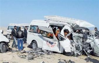 """التحقيق مع سائقي ميكروباص في """"حادث أكتوبر"""" لتسببهما في إصابة 24 شخصا"""