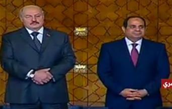 عقب لقائه نظيره البيلاروسي.. السيسي: مصر حريصة على إقامة منطقة تجارية حرة مع الاتحاد الأوراسي