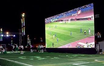 """تركيب شاشات عرض في """"الغردقة"""" لمتابعة نهائي كأس أفريقيا غداً"""